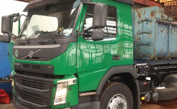Váha WK60 pro hákový nosič kontejnerů