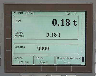 Pásová váha DV-PLC 280