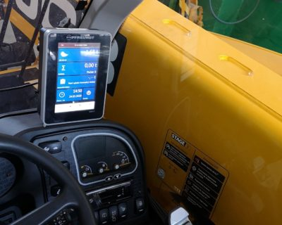 Commercial weighing for JCB 525-60